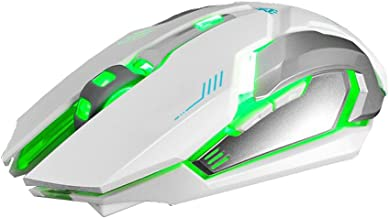 Jan STORE Free Wolf X7 Rechargeable Wireless 6D Silent LED Backlit USB Optical Ergonomic Gaming Mouse 2400DPI