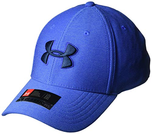 Under Armour Under Armour Herren Heathered Blitzing 3.0 Kappe, Royal/Royal/Academy (400), L/XL