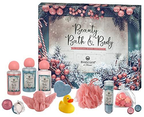 Boulevard de Beauté Wellness Christmas Calendar - Beauty-Adventskalender zum Wohlfühlen und Entspannen in der Weihnachtszeit, 24 Stück