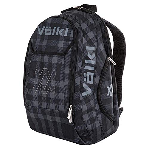 Volkl Team Backpack Black and Plaid ()