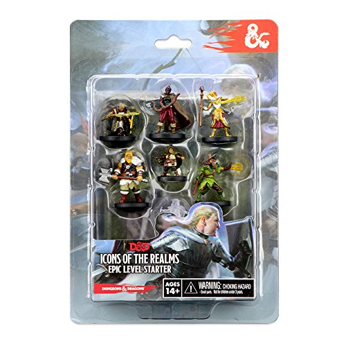 WizKids 72779 D&D Icons of The Realms Miniatures Epic Level Starter-Game
