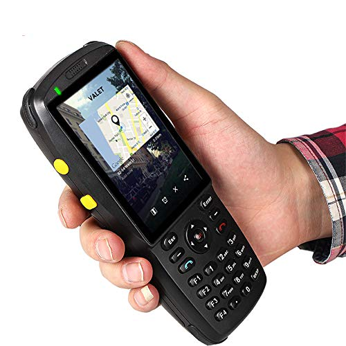 LLC-POWER 3G Portable Android 5.1 Terminal Mobile, Support 1D 2D Barcode Scanner, 3,5 Pouces Écran Tactile WiFi BT NFC pour Livraison Entrepôt Gestion des Expéditions
