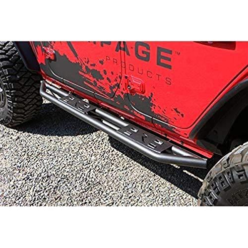 RAMPAGE PRODUCTS 88735 TrailCrawler Rock Slider Step for 2018 Jeep Wrangler JL Unlimited 4-Door
