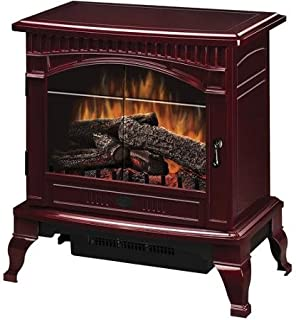 Dimplex Traditional Electric Wood Stove, DS5629CR, Cranberry, 26.5inches height