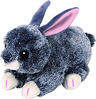 Ty 42266Grey 15cm, Beanie Babies, Rabbits Easter Limited Edition
