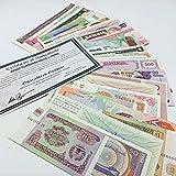 IMPACTO COLECCIONABLES Billetes del Mundo - 50 Billetes Diferentes de más de 30 Países