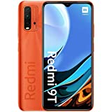 Xiaomi Redmi 9T - Smartphone 128GB, 4GB RAM, Dual Sim, Sunrise Orange