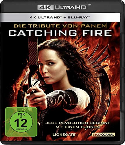 Die Tribute von Panem - Catching Fire (4K Ultra-HD) (+ Blu-ray)