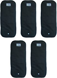 EcoAble Baby Charcoal Bamboo Snap-in Inserts for Ai2 Cloth Diapers & Covers (5-Pack)