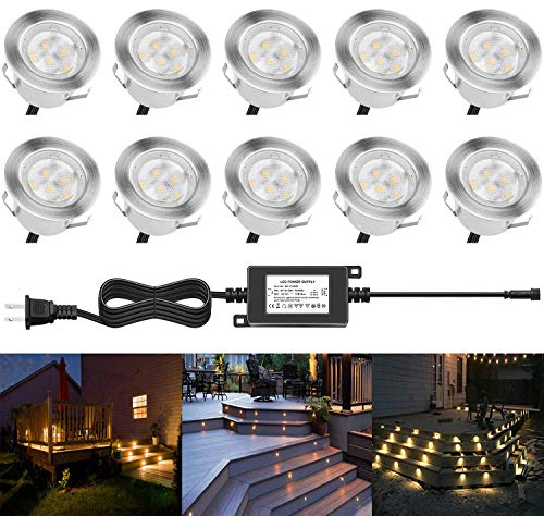See the TOP 10 Best<br>Line Voltage Outdoor Step Lights