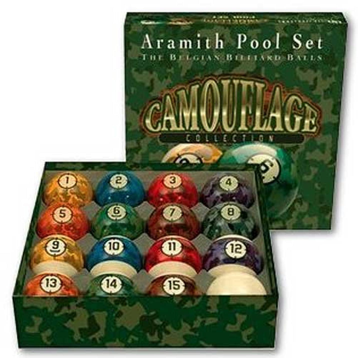 特別な快適入るAramith Camouflage Collection Billiard Ball Set