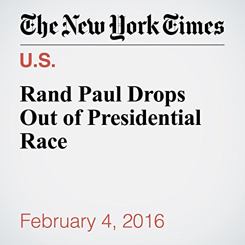 Rand Paul Drops Out of Presidential Race cover art