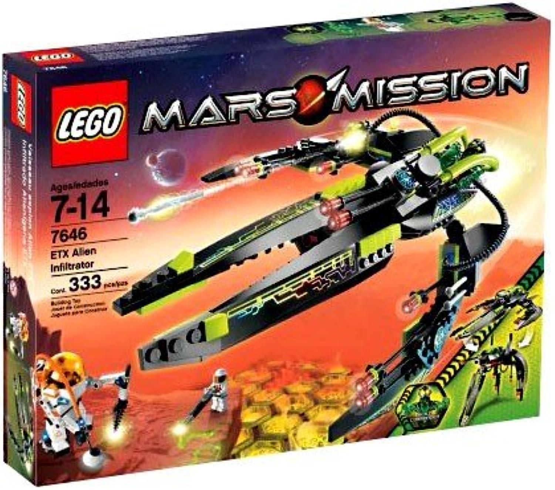 LEGO Mars Mission 7646 - ETX Alien Infiltrator B0013HUVUS  Starker Wert     | Vogue