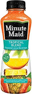 Minute Maid Tropical Blend 12 oz Plastic Bottles - Pack of 24