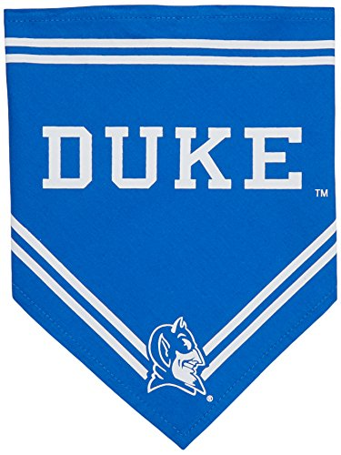 Collegiate Duke Blue Devils Pet Bandana, Small - Dog Bandana must-have for Birthdays, Parties, Sports Games etc..