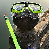 1 Set Niños Máscara Buceo Set Snorkel Set Respiración Tubo...