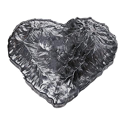 XXXD Cenicero de cigarrillo con forma de mariposa y hielo, volcán de la moda, cristal de cristal, regalo de amor, helado