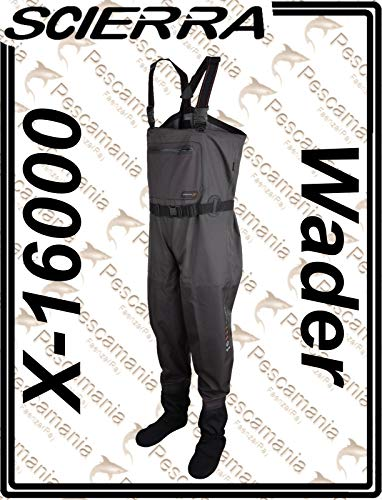 Scierra Wathose X-16000 Chest Wader Stocking Foot - XXL, NC