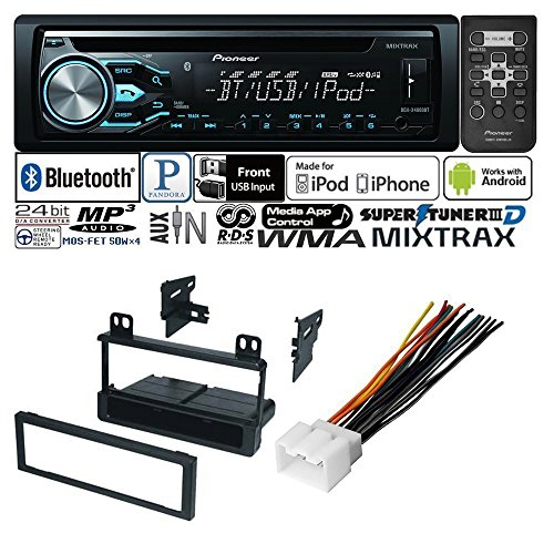 CAR RADIO STEREO CD PLAYER DASH INSTALL MOUNTING KIT HARNESS FOR FORD LINCOLN MERCURY