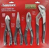 Husky 861461 Pliers Set (4-Piece) by Husky