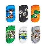 Disney's Toy Story Toddler Boy 6-pack Low-Cut Socks (2T-4T)