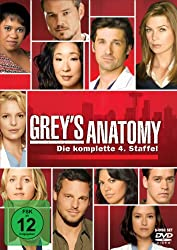 Grey's Anatomy – Staffel 4 (DVD)