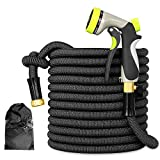 Best Pocket Hoses - Expandable Garden Hose - 50ft Lightweight Flexible pocket Review