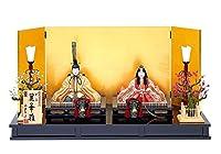 雛人形 真多呂 木目込み 高級 逸品本金立雛・佐賀錦親王・セット本金麗華雛セット 伝統的工芸品