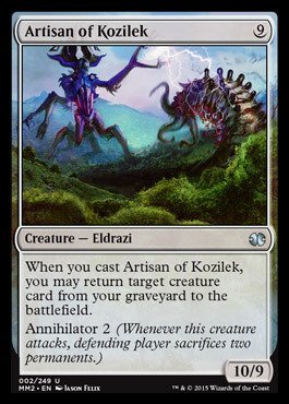 Magic: the Gathering - Artisan of Kozilek (002/249) - Modern Masters 2015 by Magic: the Gathering