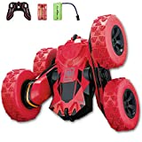 Remote Control Car, RC Stunt Car, 360 Degree Flips Double Sided Rotating Tumbling High Speed 2.4GHz and 7.5Mph Remote Control Toys for Kids, Toy Cars Gifts for Boys and Girls