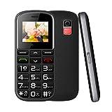 WEUN Teléfono Celular para Personas Mayores Desbloqueado, teléfono con Funciones 3G AT&T, botón Grande, teléfono básico Compatible y fácil de Usar, con Base de Carga, para Personas Mayores