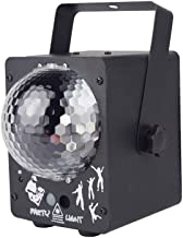 JCCOZ-URG Disco Stage Light, 60 Pattern LED Sound Control Magic Ball Light KTV Bar Flash (Color : Black) JCCOZ-URG (Color ...