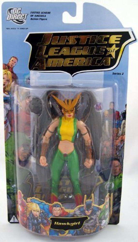 Descuento del 70% barato Justice Justice Justice League of America 2  Hawkgirl Acción Figura by DC Direct  venta al por mayor barato