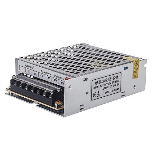 Docooler 120W AC100V ~ 240V zu DC 24V 5A Spannungswandler Schalter-Spg.Versorgungsteil.