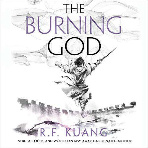 The Burning God cover art