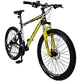 KRON XC-100 Hardtail Aluminium Mountainbike 26 Zoll, 21 Gang Shimano Kettenschaltung mit...