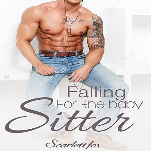 Falling for the Babysitter audiobook cover art