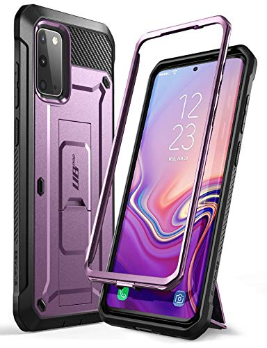 SUPCASE Outdoor Hülle für Samsung Galaxy S20 Handyhülle Bumper Hülle Rugged Schutzhülle Cover [Unicorn Beetle Pro] 6.2 Zoll OHNE Bildschirmschutz mit Gürtelclip & Ständer 2020 Ausgabe, Lila