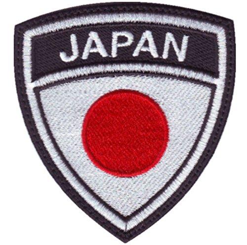 MAREL Patch Flag Bandera Japonesa Japan Parche termoadhesivo