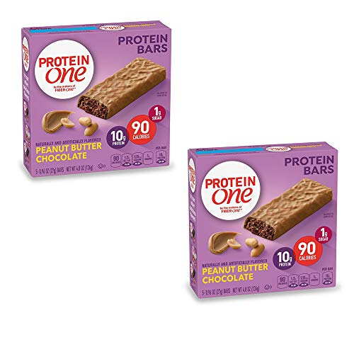 PROTEIN ONE 90 Calorie Protein Bar, Peanut Butter Chocolate, 4.8 oz(us) (Pack...