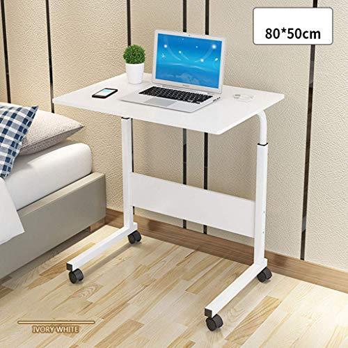 DJ zitgroep met voeten, verstelbaar, in hoogte verstelbaar, tafel Pigro laptop bureau voor auto, mobiel station, nachtkastje en studiotafel eenvoudig te monteren, D-80 x 40 cm