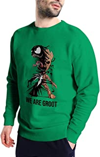 We are Groot - Funny Vintage Trending Awesome Shirt for Venom and Baby Groot Movie Lovers Unisex Style Sweatshirt