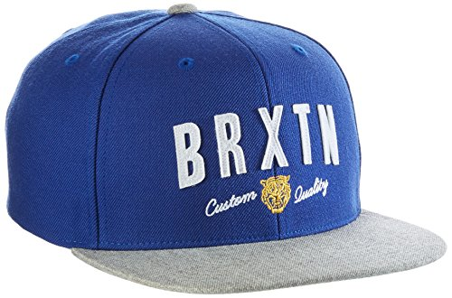 BRIXTON Ronan Snapback Casquette Taille Unique Royal/Heather Grey