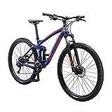 Mongoose Salvo Trail Mountain Bike, 9-Speed, 29-inch Wheel, Mens Large, Blue...