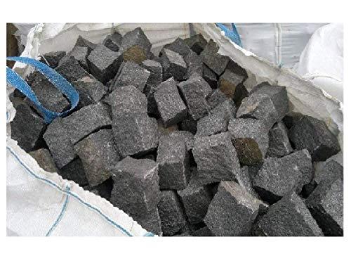 Basisprijs 299,00 euro per to. Graniet bestratingsstenen 15 x 17 cm stenen pleister stenen pleisters 1A kwaliteit, zwart, gebroken, ZONDER VERZEND! Minimale bestelhoeveelheid 10 ton.