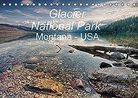 Glacier National Park Montana - USA (Tischkalender 2022 DIN A5 quer): Kurzvisite im Glacier National Park im Hochgebirge der Rocky Mountains. (Monatskalender, 14 Seiten )