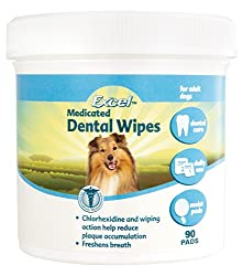 Excel Medicated Dental Wipes For Dogs