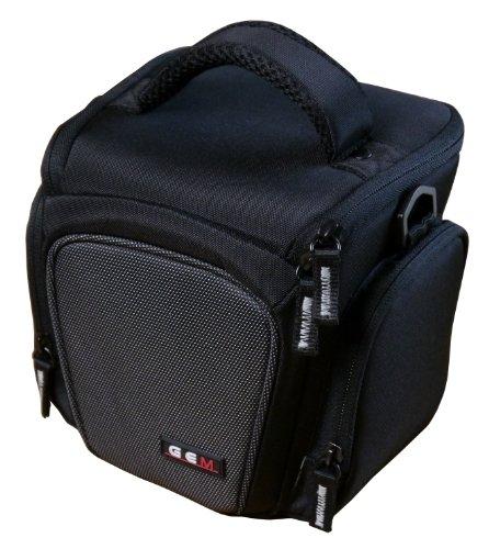 GEM GYDOTCPSX60HS Caja compacta Negro Estuche para cámara fotográfica - Funda (Caja compacta, Canon, PowerShot SX60 HS, Negro)