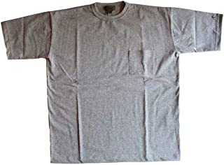 [ナイジェルケーボン]NIGEL CABOURN 19S/S WIDE T-SHIRT SOLID 120 GREY