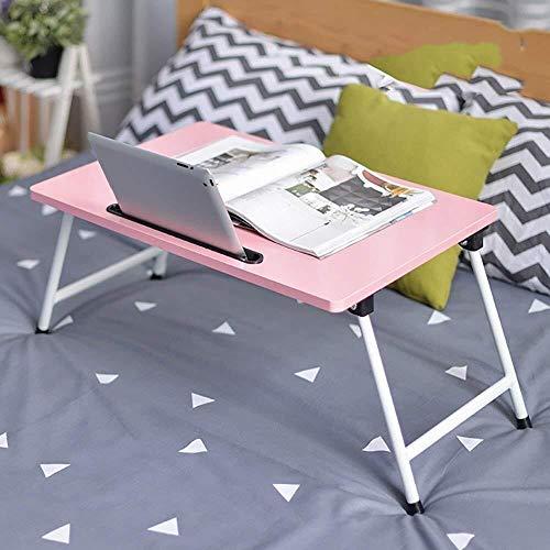 Yxsd mesa plegable Mesa portátil Cama con Estudio Mesa pequeña Mesa de 60X40X30 Cm (Color : 7#)